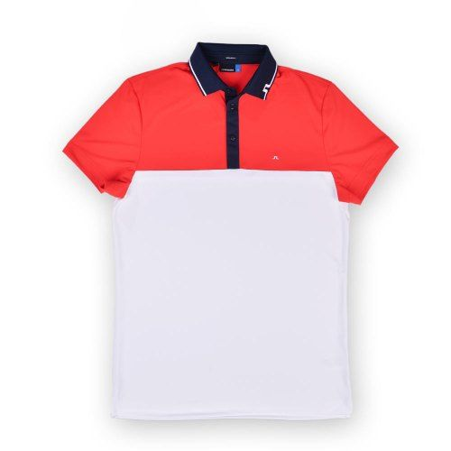 Poloshow polo J.Lindeberg M Johan Reg TX Tourque 4300 Racing red 76MG538305088 1