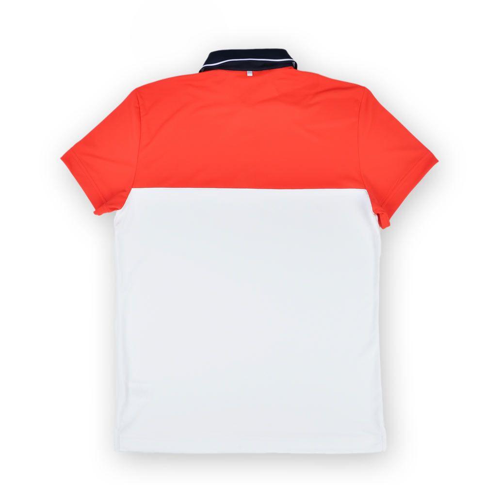 Poloshow polo J.Lindeberg M Johan Reg TX Tourque 4300 Racing red 76MG538305088 2