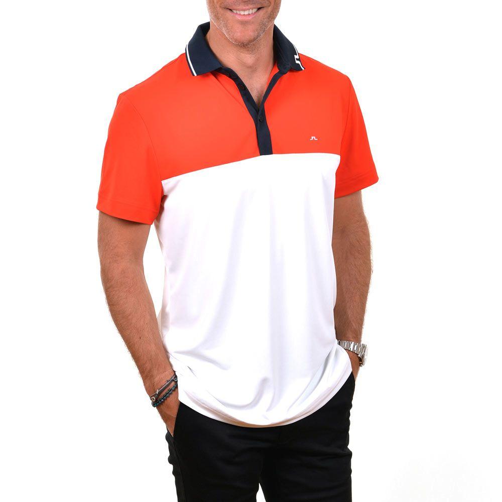 Poloshow polo J.Lindeberg M Johan Reg TX Tourque 4300 Racing red 76MG538305088 8