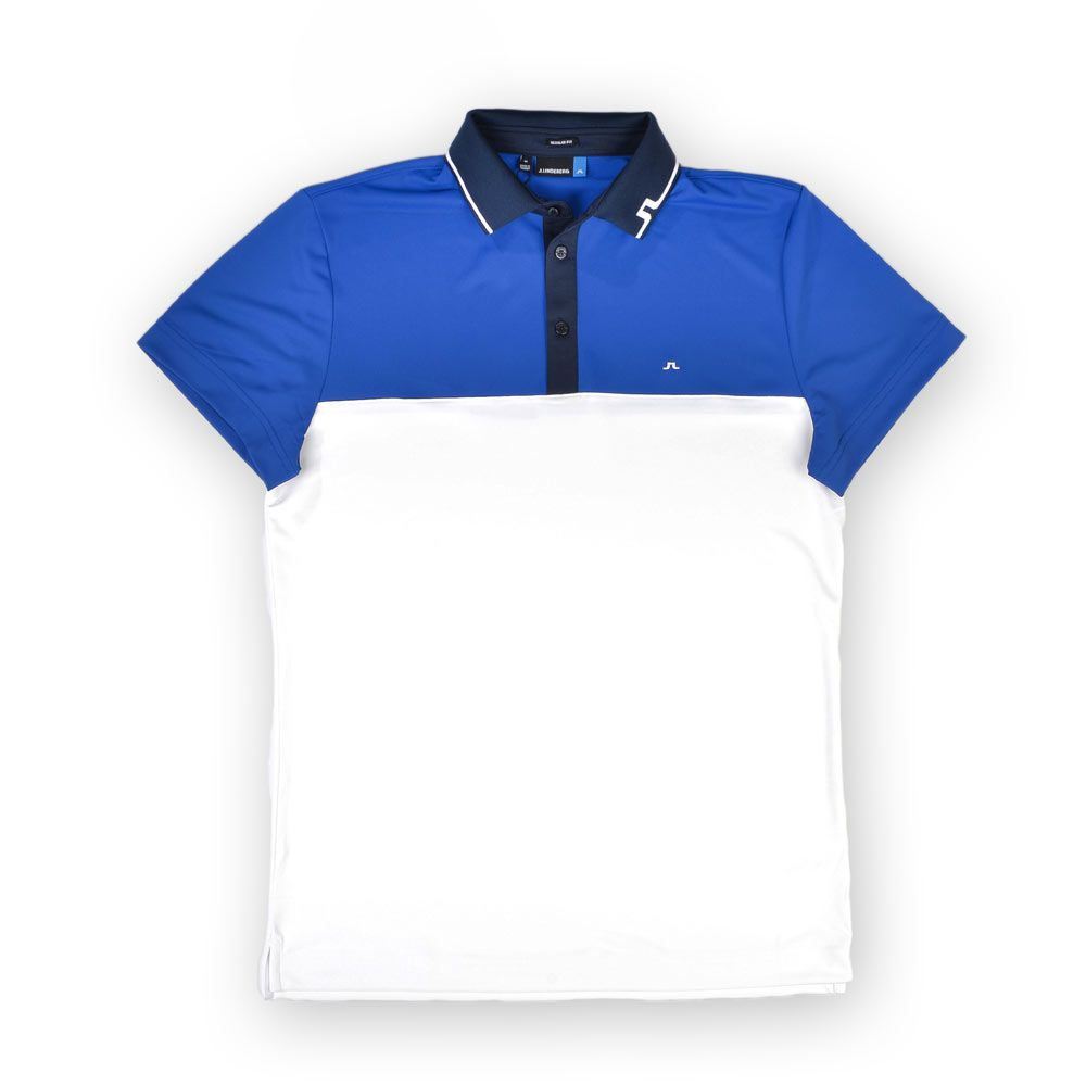 Poloshow polo J.Lindeberg M Johan Reg TX Tourque 6237 Strong blue 76MG538305088 1