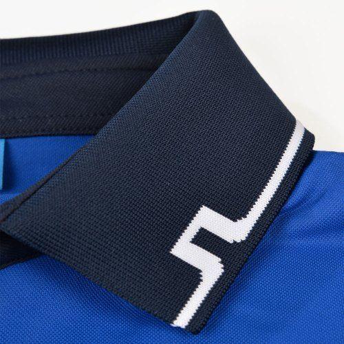 Poloshow polo J.Lindeberg M Johan Reg TX Tourque 6237 Strong blue 76MG538305088 5
