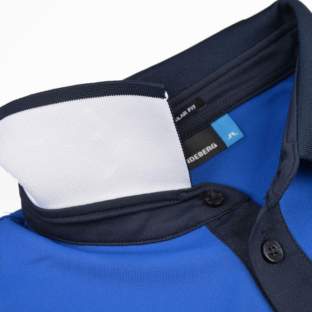 Poloshow polo J.Lindeberg M Johan Reg TX Tourque 6237 Strong blue 76MG538305088 6