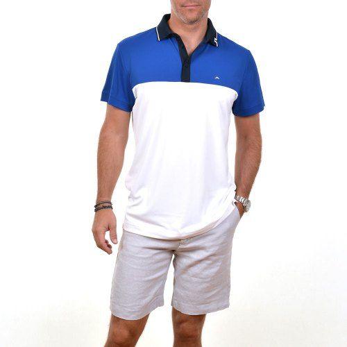 Poloshow polo J.Lindeberg M Johan Reg TX Tourque 6237 Strong blue 76MG538305088 8