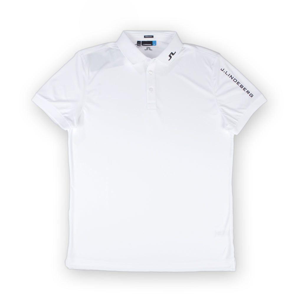 Poloshow polo J.Lindeberg M Tour Tech TX Jersey 0000 White STMG530545610 1