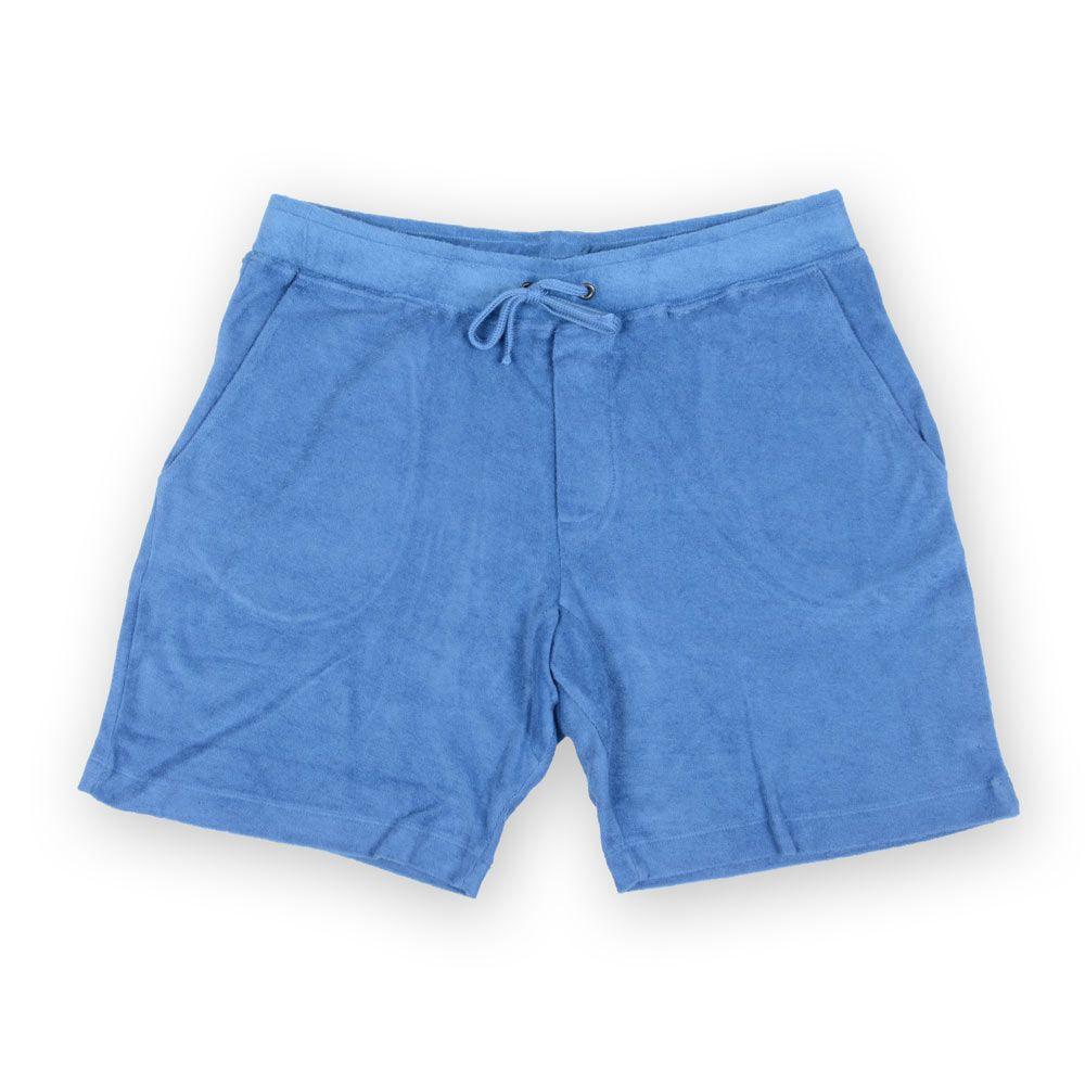 Poloshow short Majestic Filatures Bleu S1820004 814 1