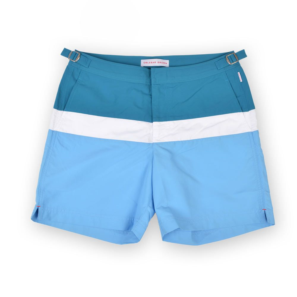 Poloshow short Orlebar Brown Bulldog Colour Block RivieraDeep SeaW 26624931 1
