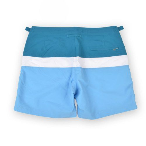 Poloshow short Orlebar Brown Bulldog Colour Block RivieraDeep SeaW 26624931 2