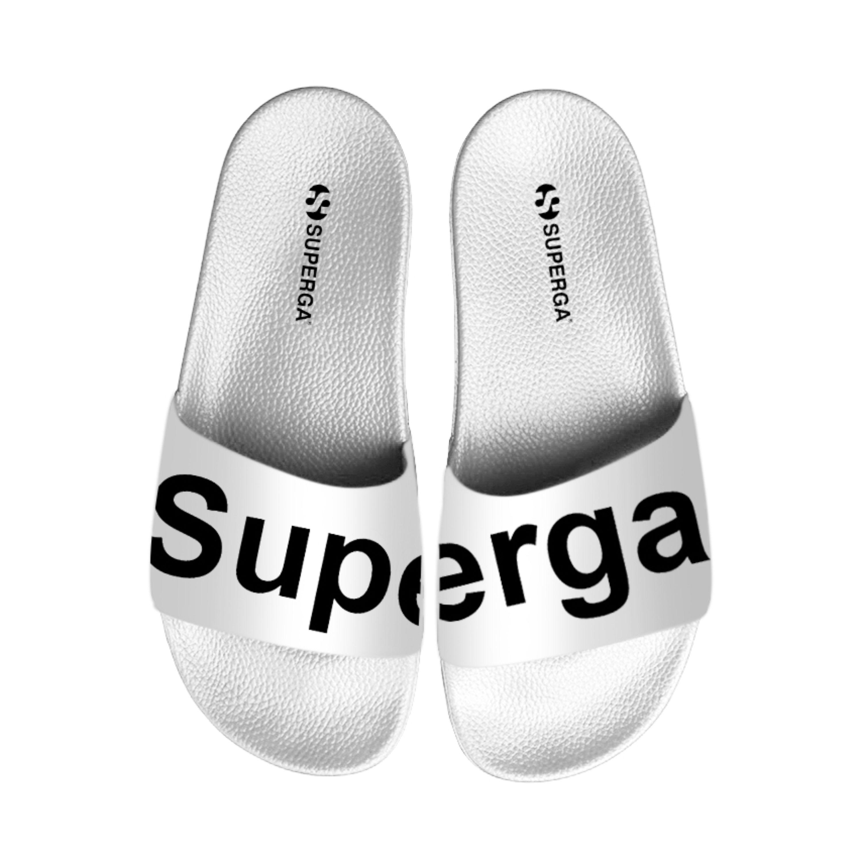 Superga Slides PVC White   Poloshow