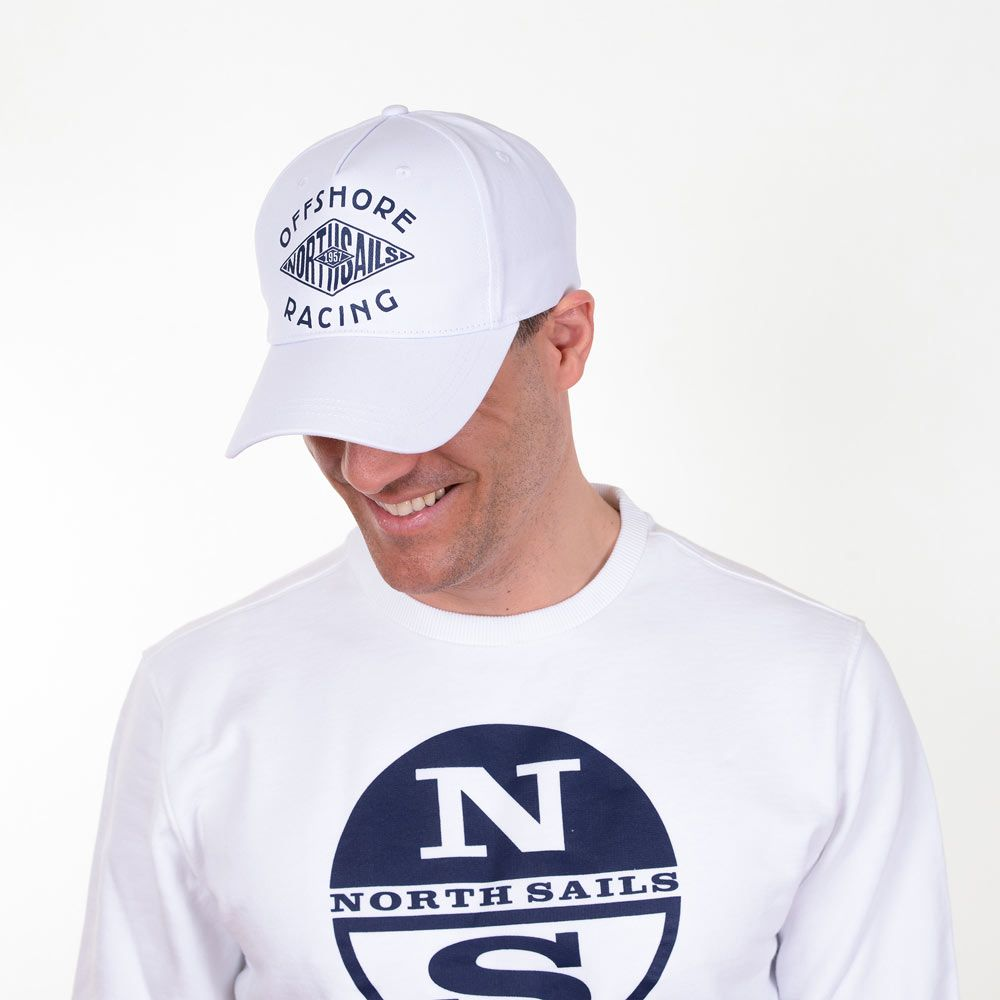 Poloshow cap NorthSails White 6286250000101 4
