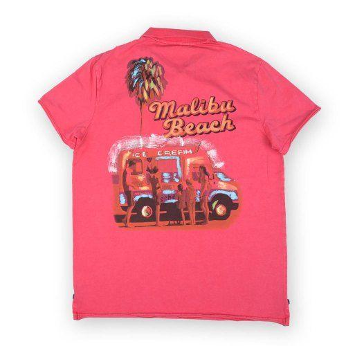 Poloshow polo Dimattia P Old Malibu Pink 5T1311 2