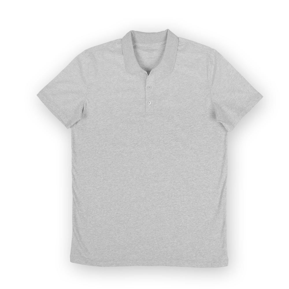 Poloshow polo Majestic Filatures Gris Chine Clair S1809007 004 1