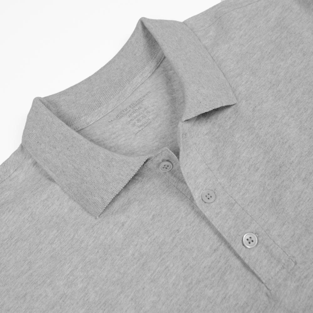 Poloshow polo Majestic Filatures Gris Chine Clair S1809007 004 3