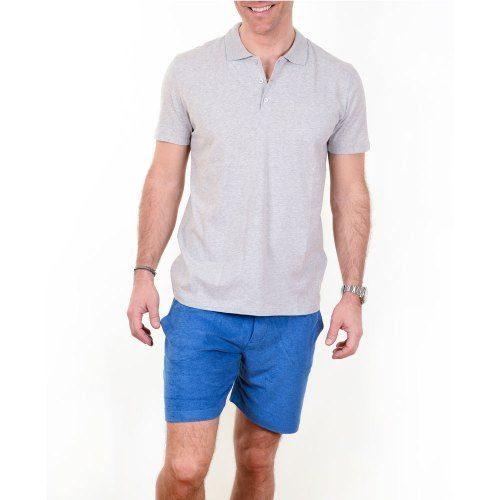 Poloshow polo Majestic Filatures Gris Chine Clair S1809007 004 5