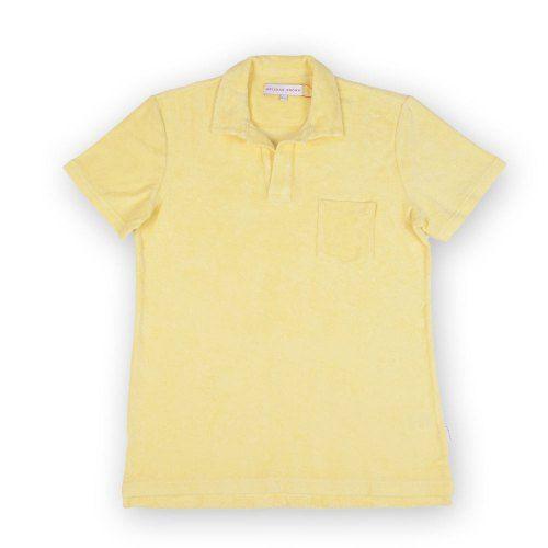 Poloshow polo Orlebar Brown lemon 266988M 1