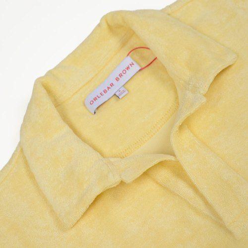 Poloshow polo Orlebar Brown lemon 266988M 3