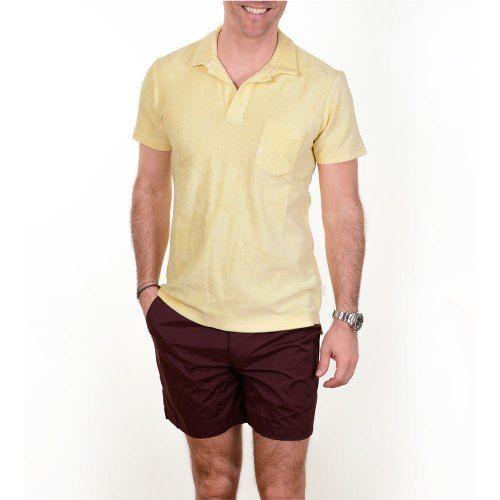 Poloshow polo Orlebar Brown lemon 266988M 6