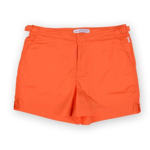 Poloshow short Orlebar Brown Hazard Orange 26709331 1