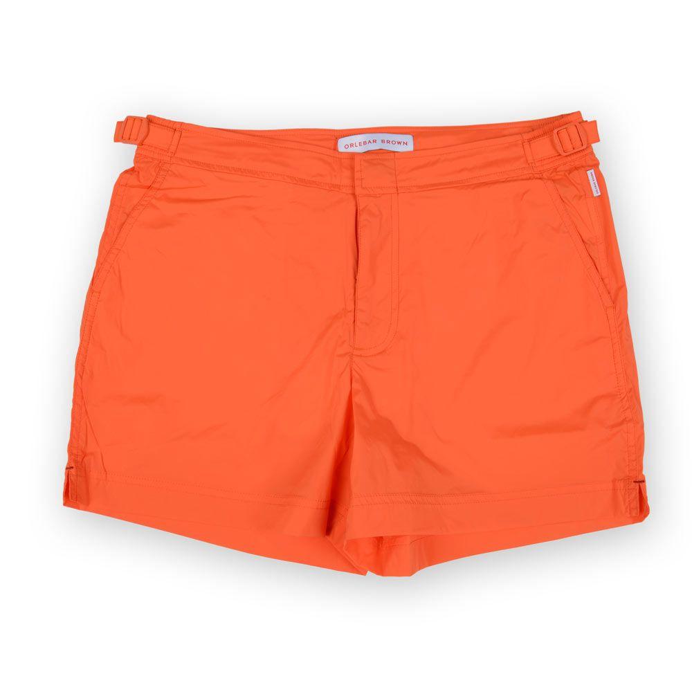 Poloshow short Orlebar Brown Hazard Orange 26709331 1