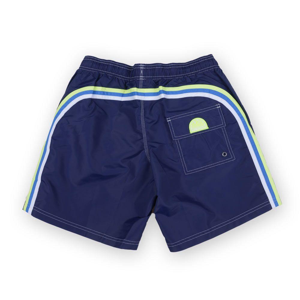 ece23824f3 Sundek Swim Trunks Elastic Waist 16″ Dark Blue | Poloshow