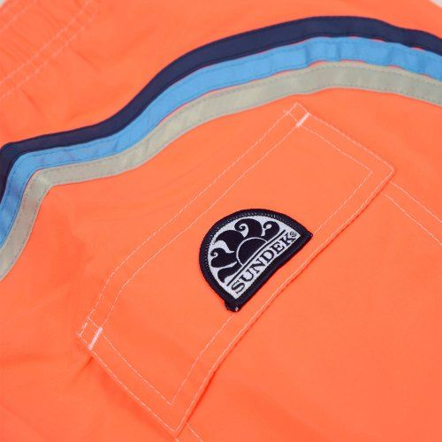 Poloshow short Sundek Fluo Orange M505BDTA100 505 3