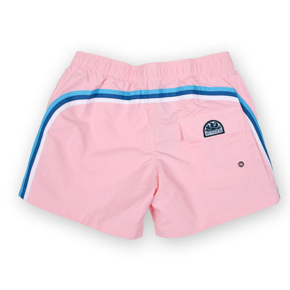 Poloshow short Sundek Quarz Pink M504BDTA100 532 2