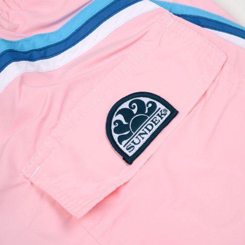 Poloshow short Sundek Quarz Pink M504BDTA100 532 3