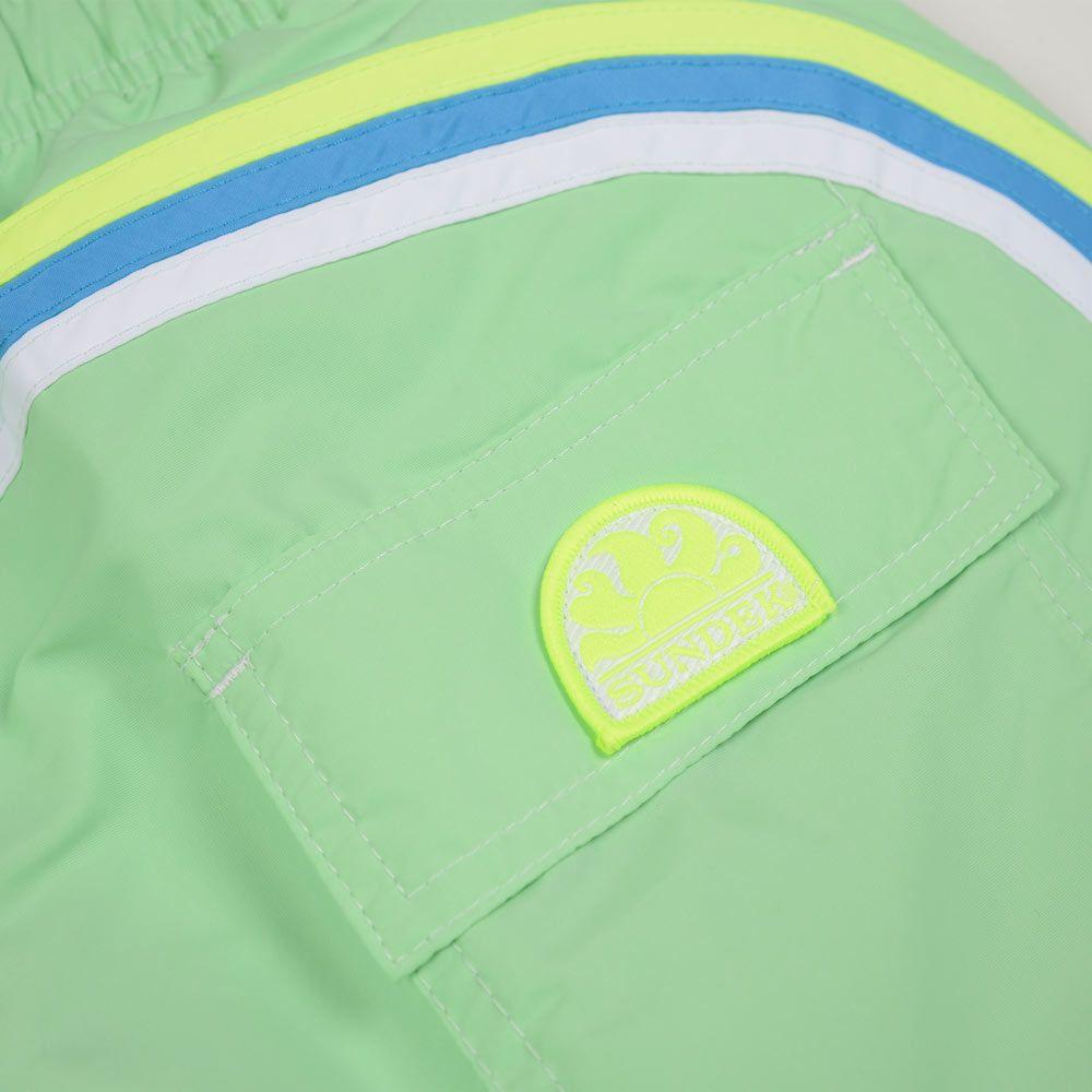 Poloshow short Sundek Tender Green M504BDTA100 531 3