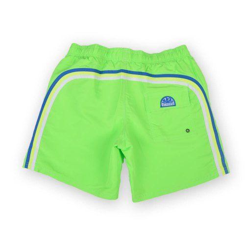 Poloshow Sundek short Fluo Green M505BDTA100 523 16'' 2