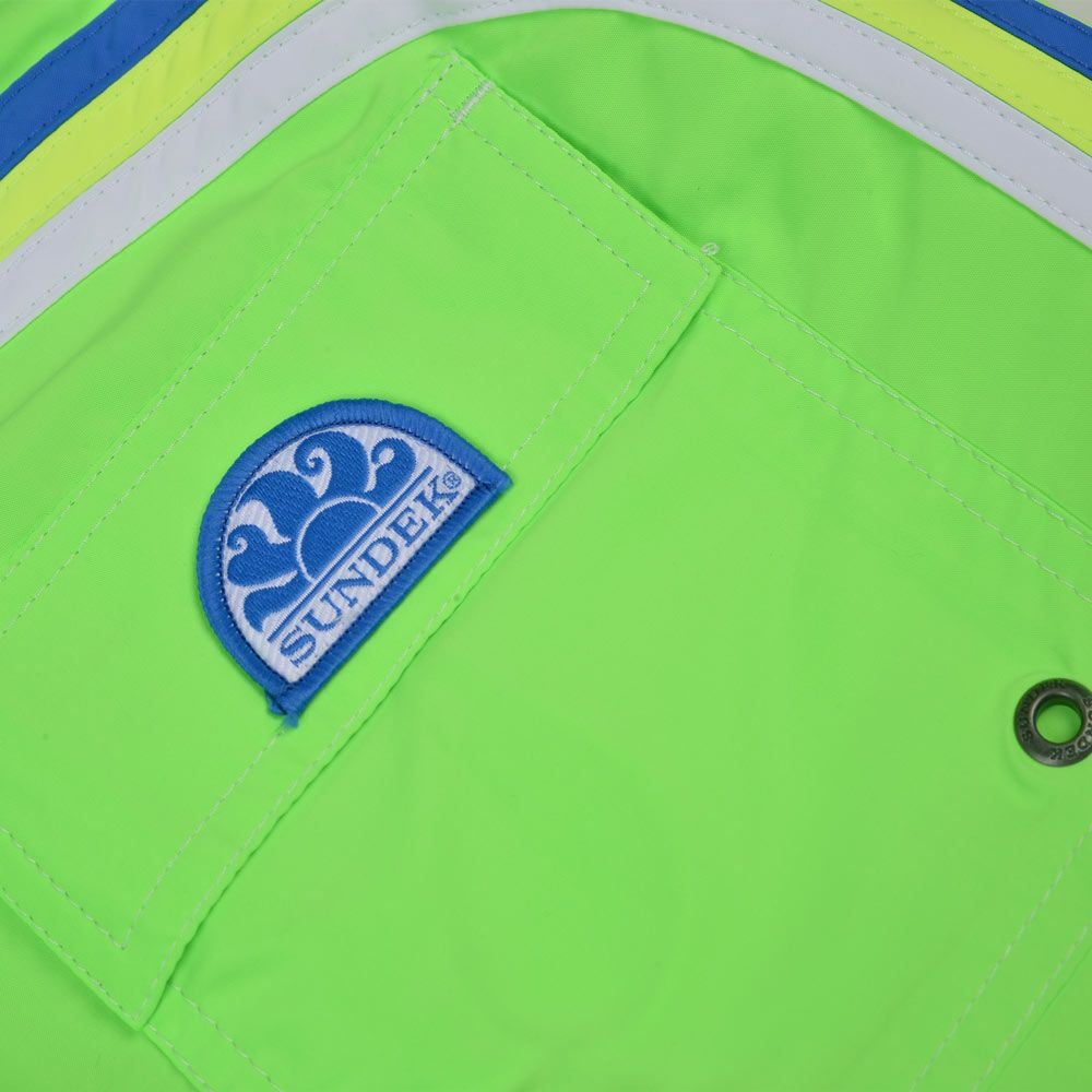 Poloshow Sundek short Fluo Green M505BDTA100 523 16'' 3