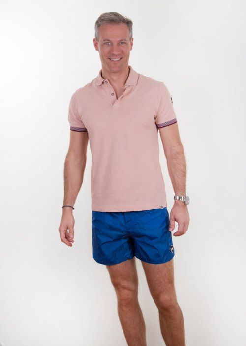 Poloshow short Colmar Blau 7234 8PC 282 10