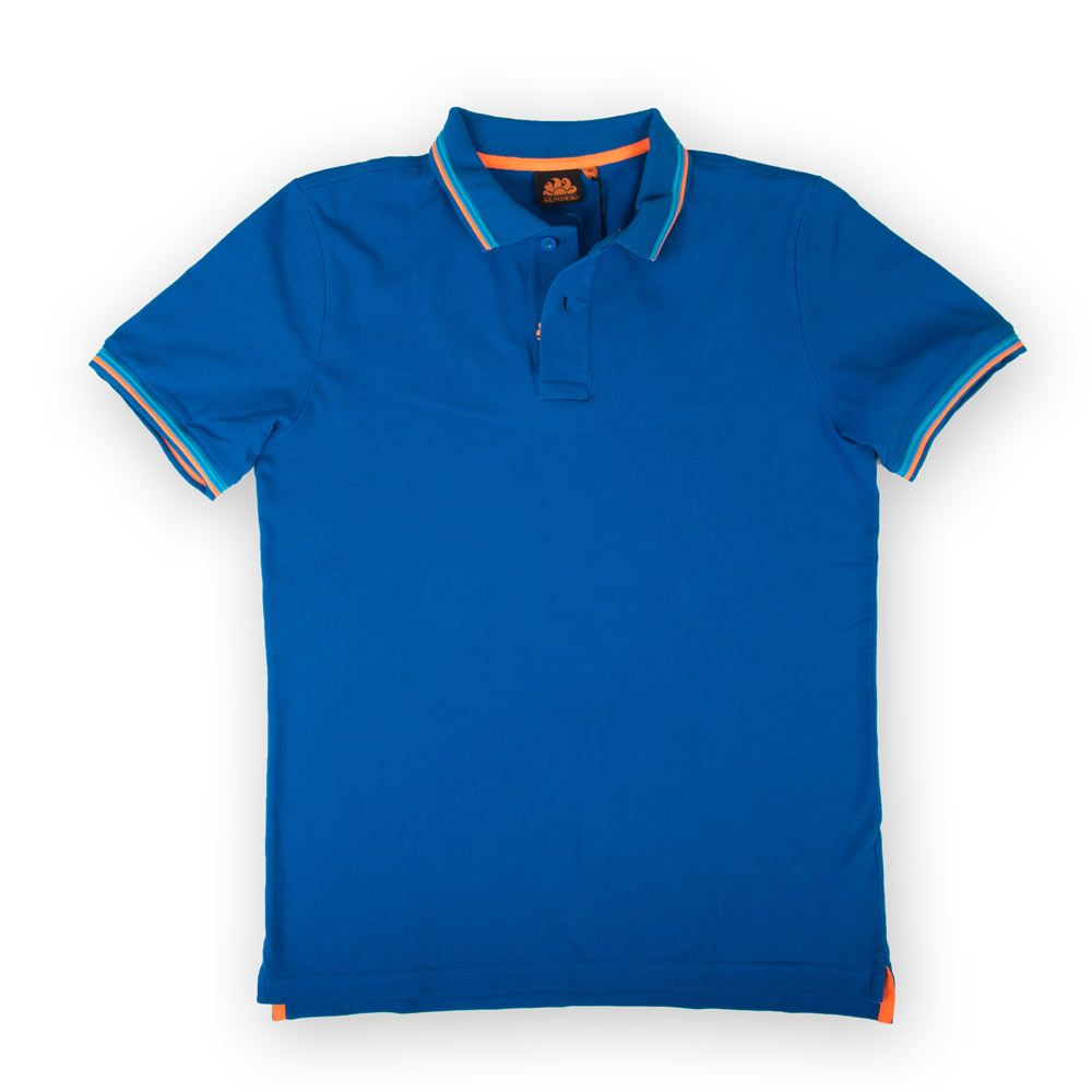 Poloshow polo Sundek Blau M779PLJ6500 1
