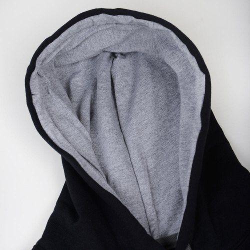 Poloshow Hoodie Black Grey 4
