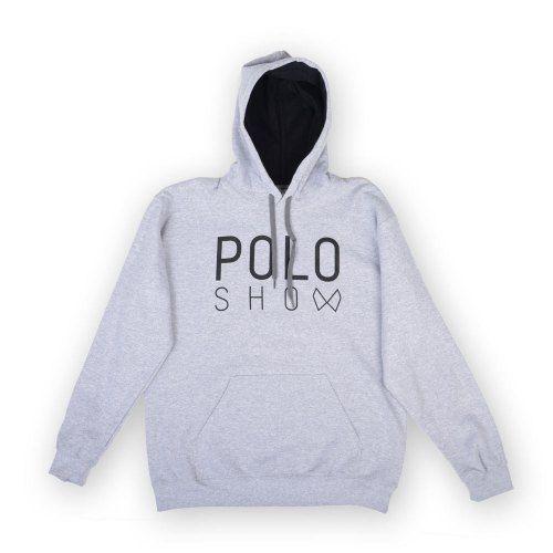 Poloshow Hoodie Grey Black 1