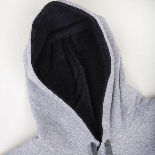 Poloshow Hoodie Grey Black 4