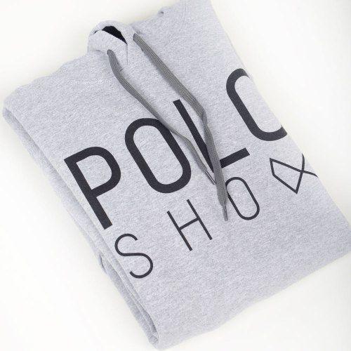 Poloshow Hoodie Grey Black 7