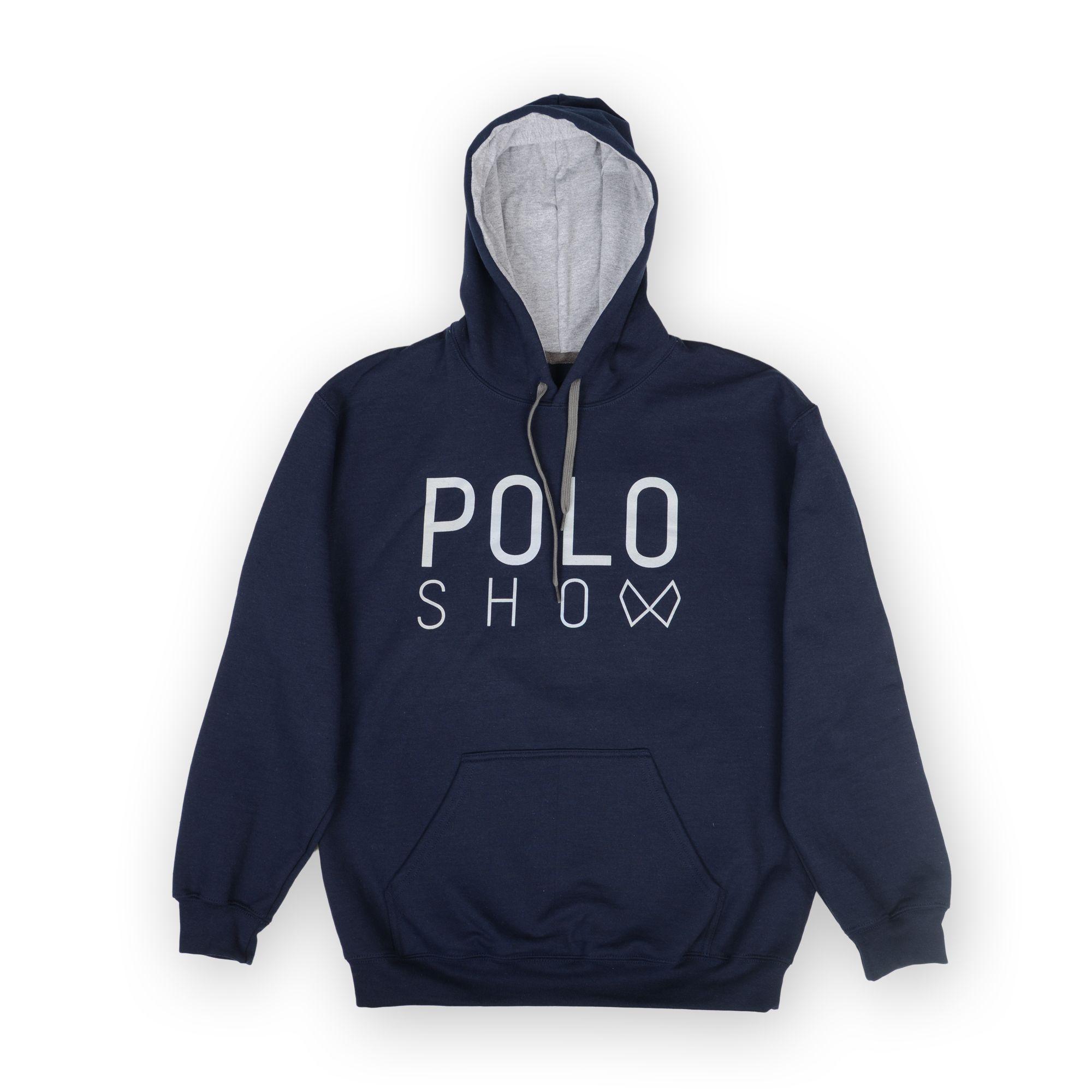 Poloshow Hoodie Navi Grey 1