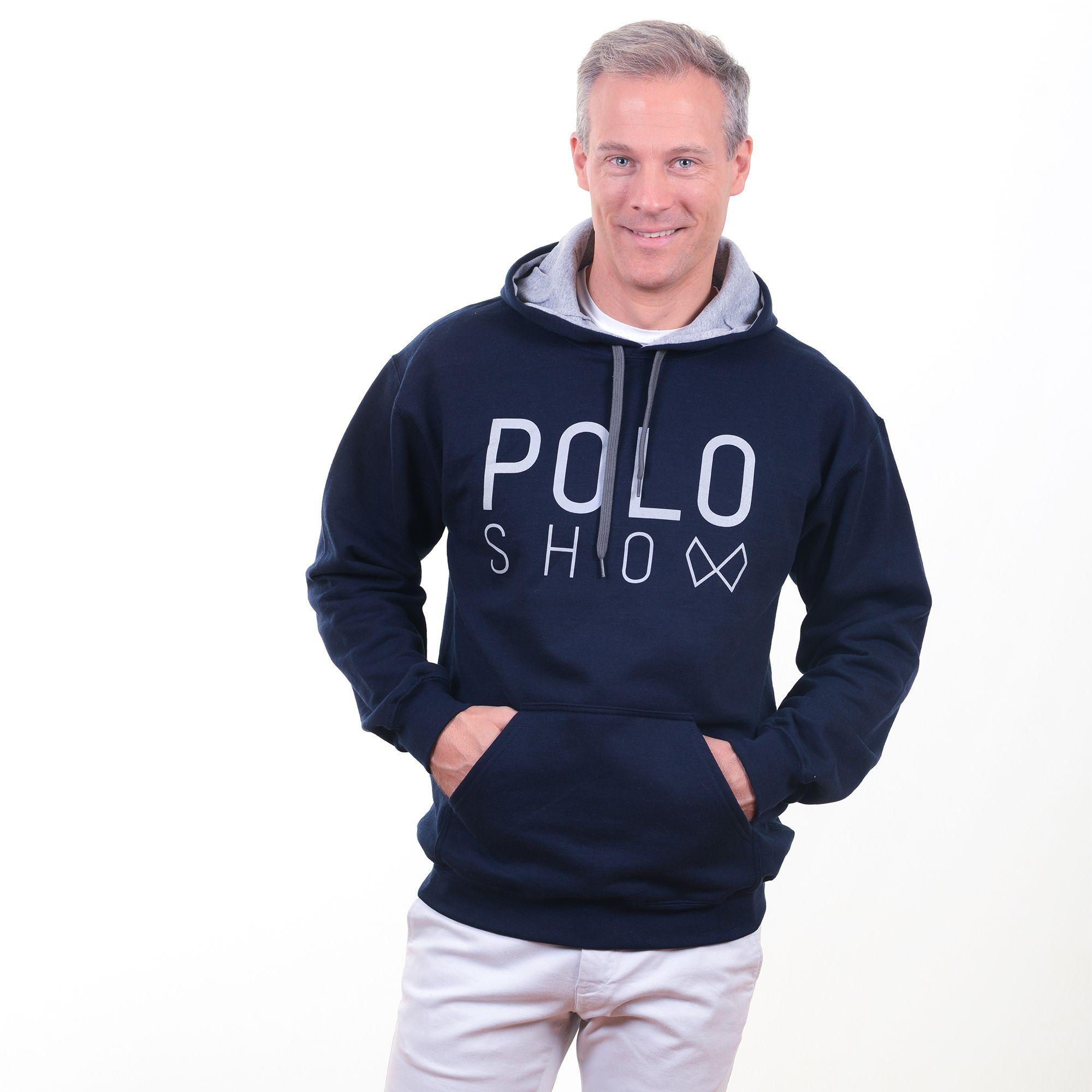 Poloshow Hoodie Navi Grey 10