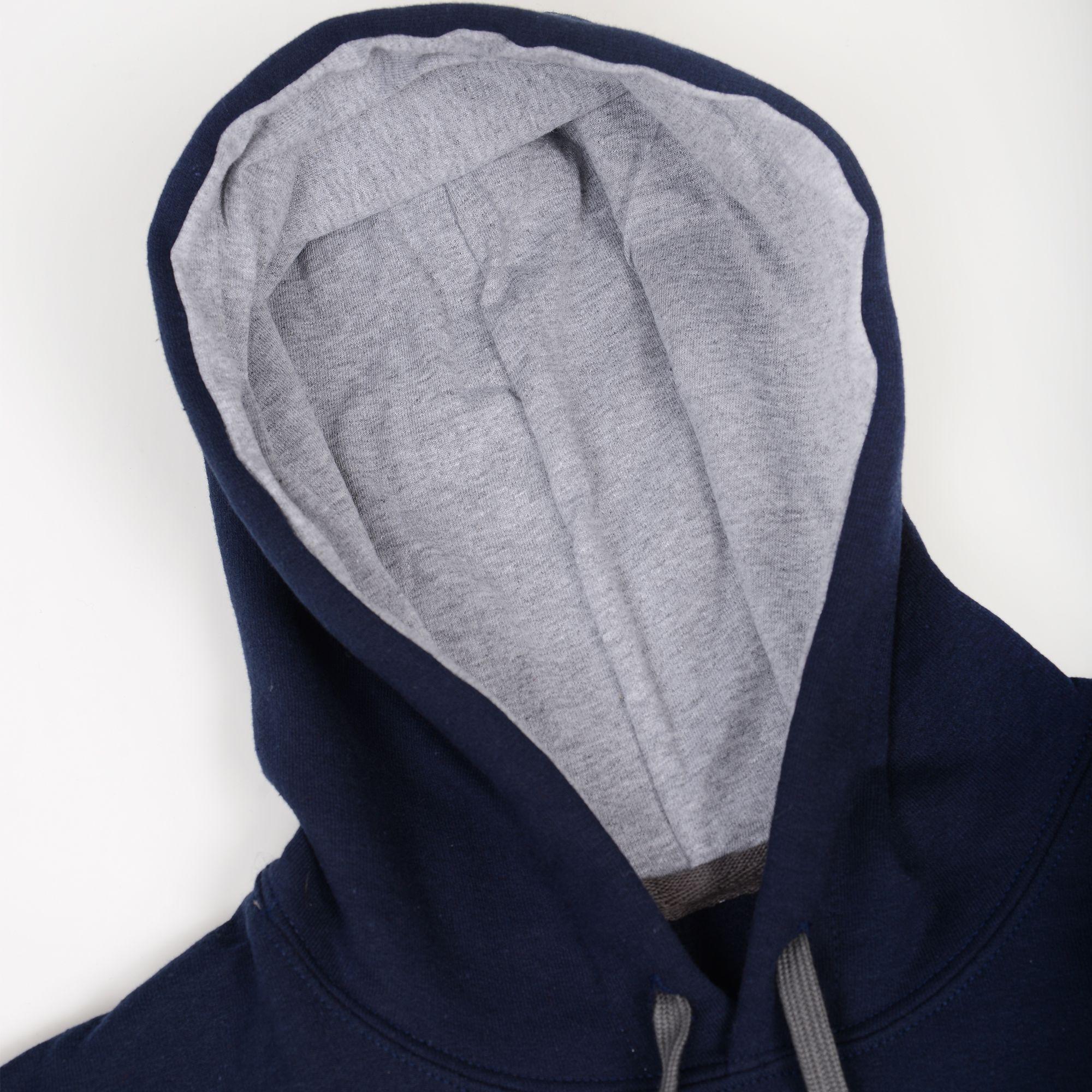 Poloshow Hoodie Navi Grey 4