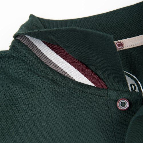 Poloshow polo Colmar dunkelgrün 7620 4SH 4.4