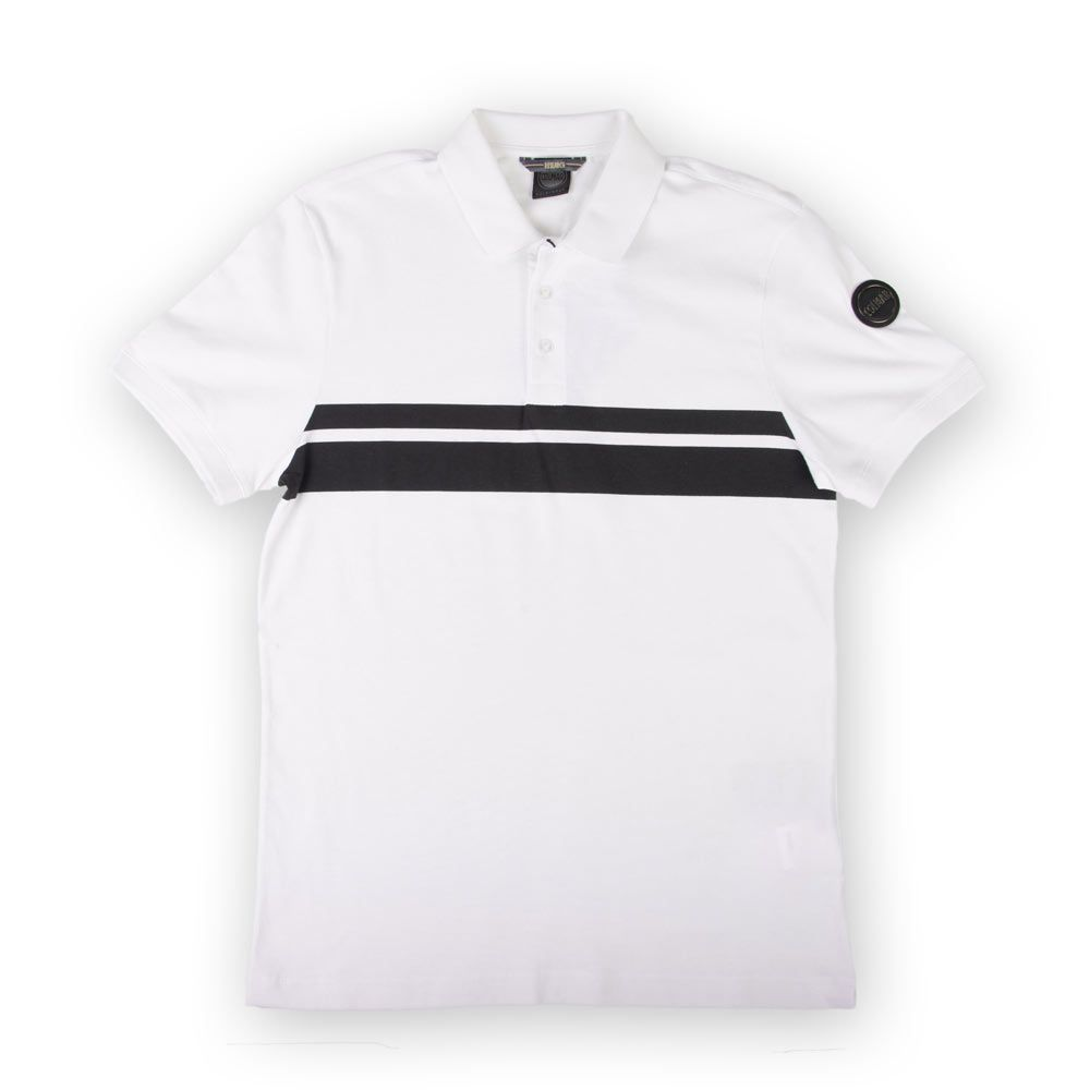 best service f31ce 612ff Colmar Poloshirt 7625 Chest Stripes White