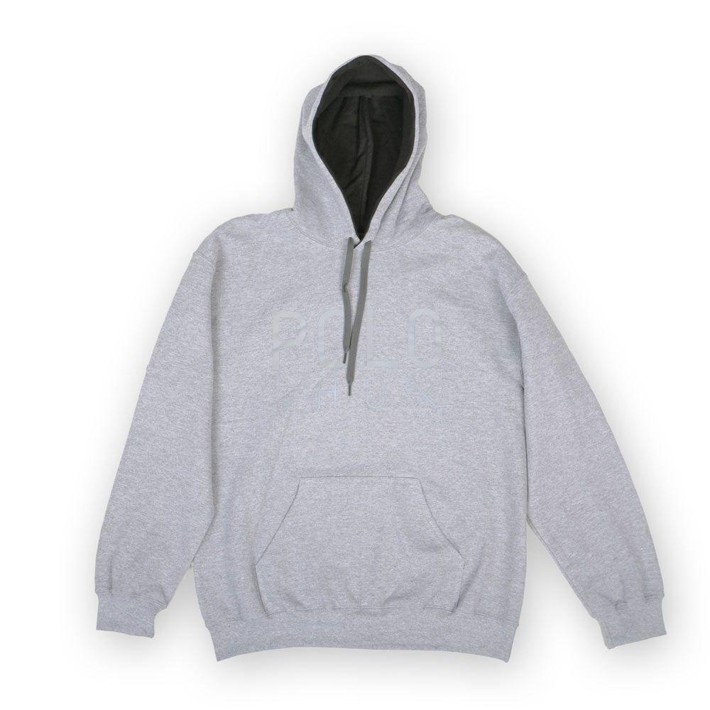 Poloshow Hoodie Grey Grey 1