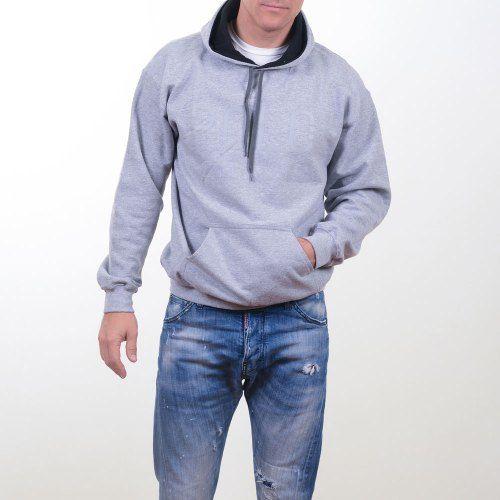 Poloshow Hoodie Grey Grey 9