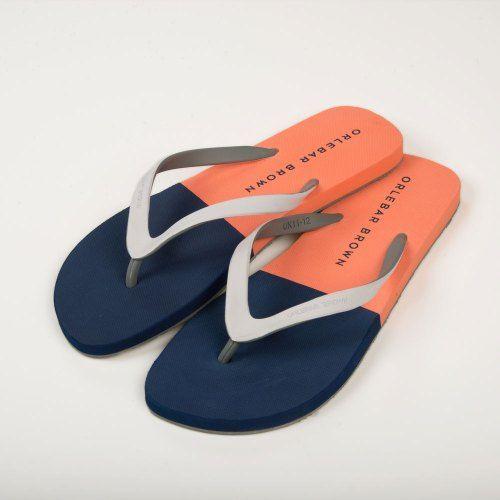 Poloshow Flipflops Orlebar Brown Blau Orange Haston 26941511 2