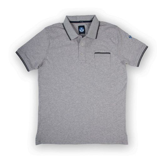 Poloshow polo North Sails Grau 692164 000 0926 1