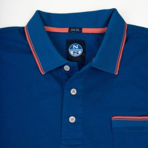 Poloshow polo North Sails Mittelblau 692164 000 0790 3