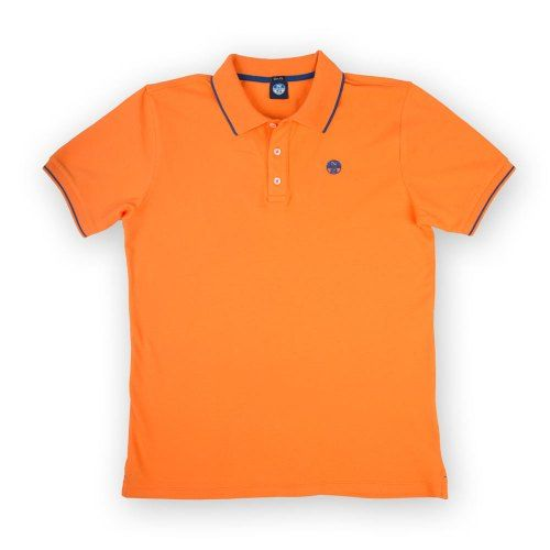 Poloshow polo North Sails Orange 692154 000 0555 1