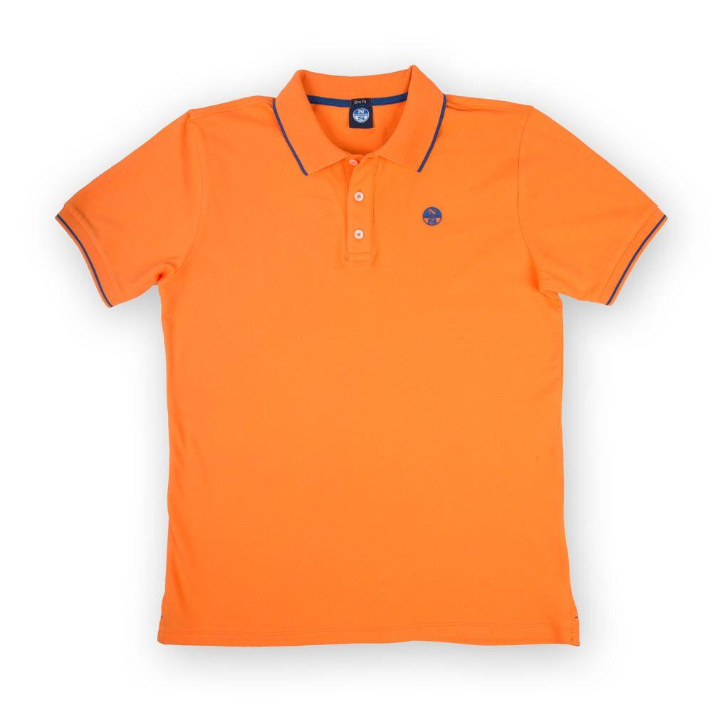 Poloshow polo North Sails Orange 692154 000 0555 1