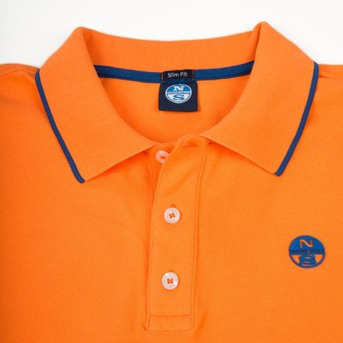 Poloshow polo North Sails Orange 692154 000 0555 3