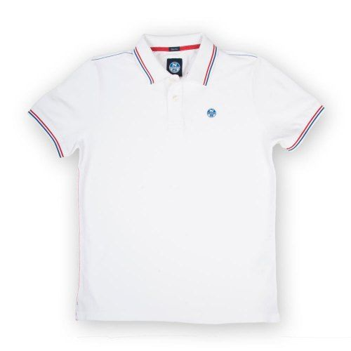 Poloshow polo North Sails Weiß 69 2138 000 0101 1