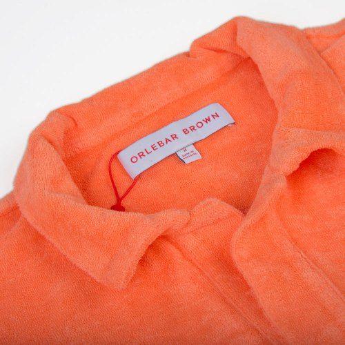 Poloshow polo Orlebar Brown Orange Terry 269313M 4